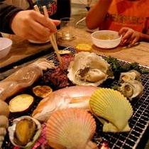 ■海鮮BBQ一例■