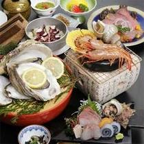 ■新鮮な魚介を石焼で♪(一例)■