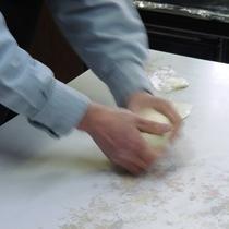 朝食_自家製パン
