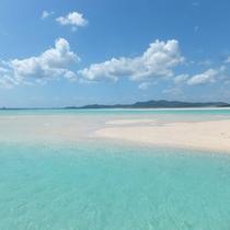 *【はての浜】美しい白浜と360°エメラルドグリーンの美しい海
