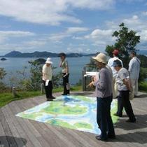 大久野島の山頂