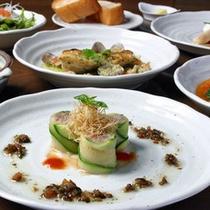 創作洋食コース一例
