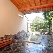 8畳×4畳 2間の離れ露店風呂付客室