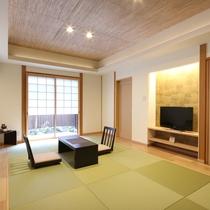 和室(12畳) 離れ 露天風呂付客室