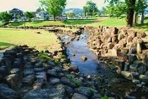 亀山公園 水場