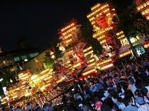 祇園祭「集団顔見せ」夜