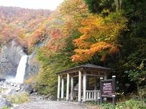 日本の滝百選(苗名滝)