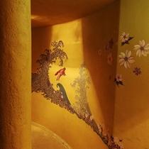 ■うさぎの湯船入口