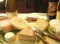 信州産チーズ&ワイン(信州づくしのディナープラン)