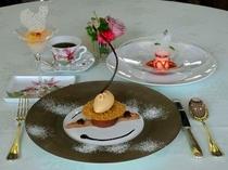 3種のデザート(レディースプラン)