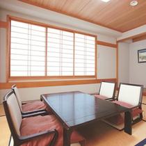 【客室「和室一例」】落ち着いた雰囲気の畳のお部屋です