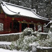 滝尾神社(冬)