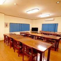 *[食堂]朝夕共にテーブル&イスの食堂でお召し上がりいただきます。