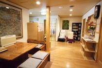 1階ホール:入館してすぐの1階ホールです。