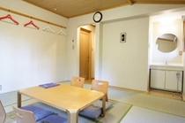 和室2:和室1と同じ部屋。防ダニ畳仕様です。