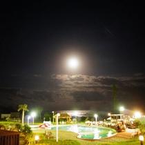 客室より夜の眺め