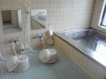 人工温泉お風呂