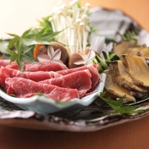 レセプションフロア沙渡里 食事一例