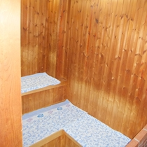 男女大浴場にはサウナ完備