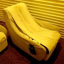 2階の有料席にございます。リラックスしたい方にオススメ!