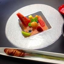 谷中生姜の豚肉巻き