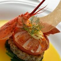 2012'クリスマスディナー 魚料理