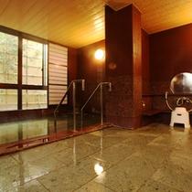 天然温泉 御影石風呂