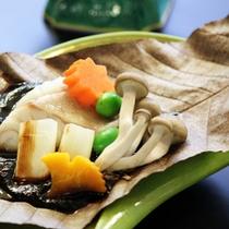 九絵朴葉味噌焼き