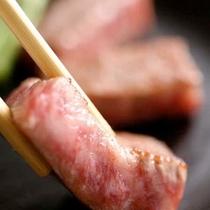 和牛鉄板焼き ※料理一例