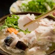 紀州本クエ大鍋 ※料理一例