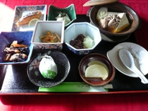 冬の朝食例