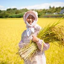 *契約農家さんのお米/美味しいご飯を出せるのも高橋さんご夫婦のお陰です!