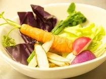 地野菜のサラダ