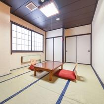 *和室8〜10畳(客室一例)/畳の香りがほのかに薫るお部屋で団欒のひと時をお過ごし下さい。
