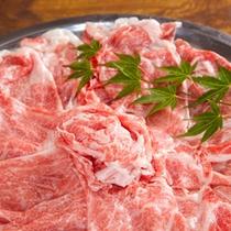 (夕食)サシの入った佐賀牛に舌鼓を打つ