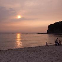 (周辺観光)白良浜夕暮れ