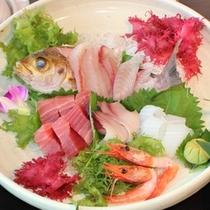 (夕食)南紀の地魚姿盛り