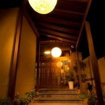 中松屋の玄関