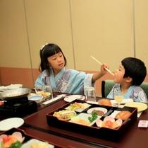 個室でゆっくり食事♪お子さまランチで子どもも大満足!