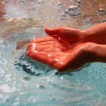 □光触媒水を使用。安心安全、清潔な体に優しいお湯。