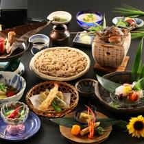 ■【基本】深志荘お奨め。信州の味と食材にこだわった会席料理をご堪能いただけます。夏の一例
