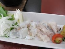 鱧と生蛸のシャブシャブ