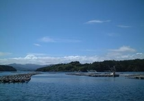 当館直営の養殖筏