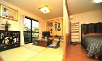 和洋併用15畳の客室
