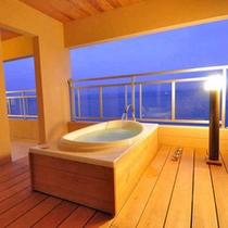 露天風呂付き客室 専用露天
