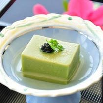 前菜『抹茶豆腐』