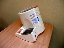 湯上り処:血圧計(無料)