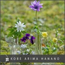 瓶4本の花