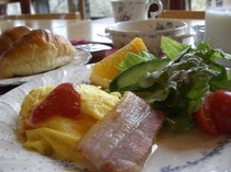 北斗星の朝食