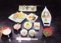 7875円宿泊プランの料理例